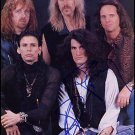 "Aerosmith Group (Rock Band) 8 x 10"" Autographed Photo - (Ref:591)"