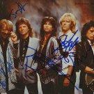 "Aerosmith Group (Rock Band) 8 x 10"" Autographed Photo - (Reprint :593) FREE SHIPPING"