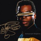"LeVar Burton (Roots /Star Trek) 8 x 10"" Autographed Photo (Reprint:598)"