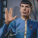 "Leonard Nimoy Star Trek 8 x 10"" Autographed Photo (Reprint:600) FREE SHIPPING"