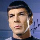 "Leonard Nimoy Star Trek 8 x 10"" Autographed Photo (Reprint:605) FREE SHIPPING"