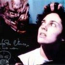 """Nicholas Vince (Chatterer Cenobite Hellraiser) 8 x 10"""" Autographed Photo - (Reprint:606) FREE P+P"""