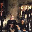 "Hellraiser Cast x 4 Bradley, Wilde, Vince & Bamford 8 x 10"" Autographed Photo - (Ref:608)"