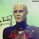 "Doug Bradley Pinhead / Hellraiser 8 x 10"" Autographed Photo - (Ref:612)"