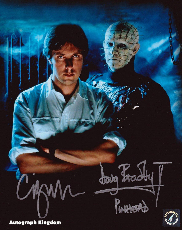 "Doug Bradley & Clive Barker Hellraiser 8 x 10"" Autographed Photo - (Reprint :615) Great Gift Idea!"
