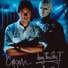 "Doug Bradley & Clive Barker Hellraiser 8 x 10"" Autographed Photo - (Ref:615)"