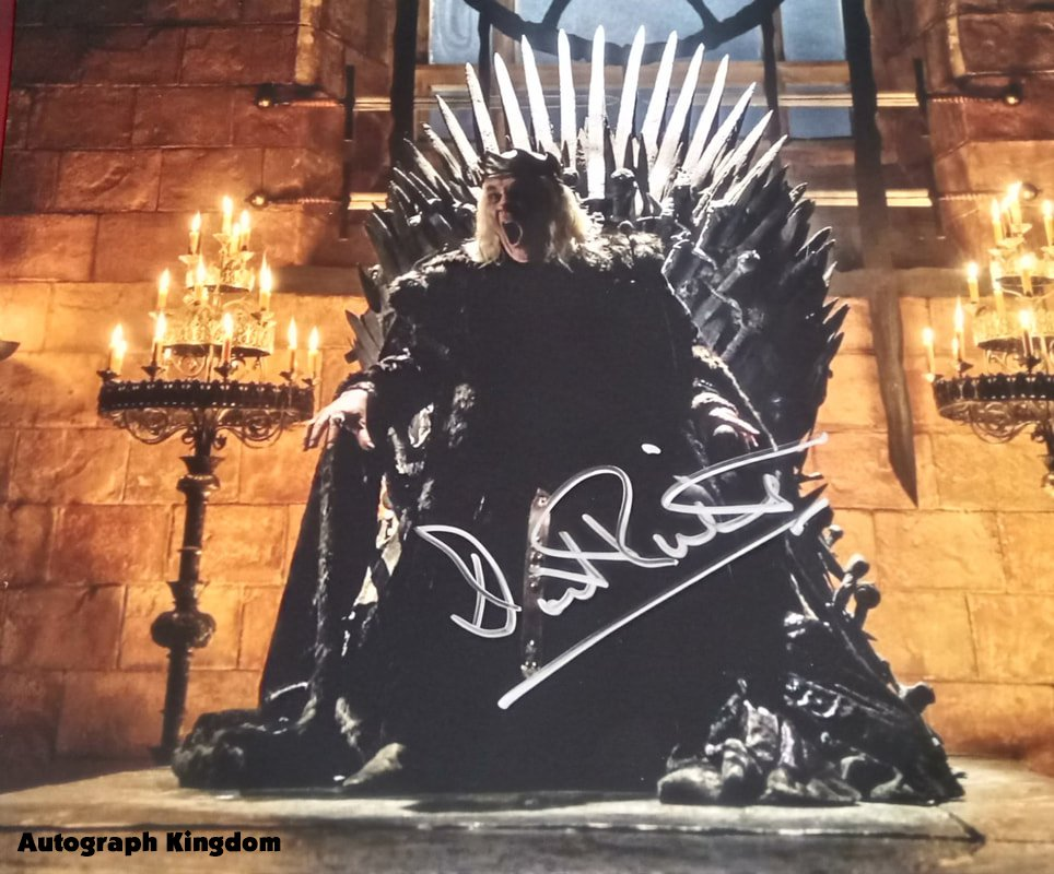 """David Rintoul Game of Thrones  8 x 10"""" Autographed Photo (Reprint:000253) Great Gift Idea!"""