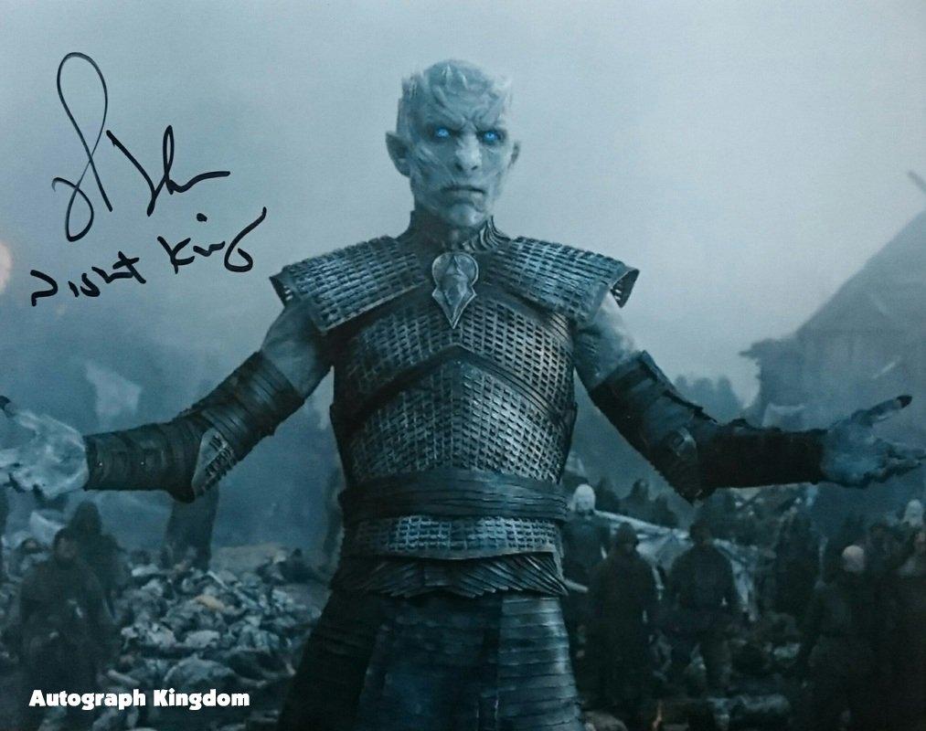 "Richard Brake (Night King: Game of Thrones) 8 x 10"" Autographed Photo (Reprint:GOT20)"