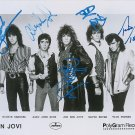 "Bon Jovi 8 X 10"" Autographed Photo signed by all 5 Members - (Reprint :BJG02)"