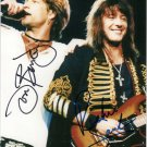 "Bon Jovi & Richie Sambora Dual 8 x 10"" Autographed Photo - (Reprint: BJ05) Great Gift Idea!"