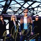 "Bon Jovi (Richie Sambora, David Bryan, Jon Bon Jovi) 8 x 10"" Autographed Photo(Reprint:BJG03)"
