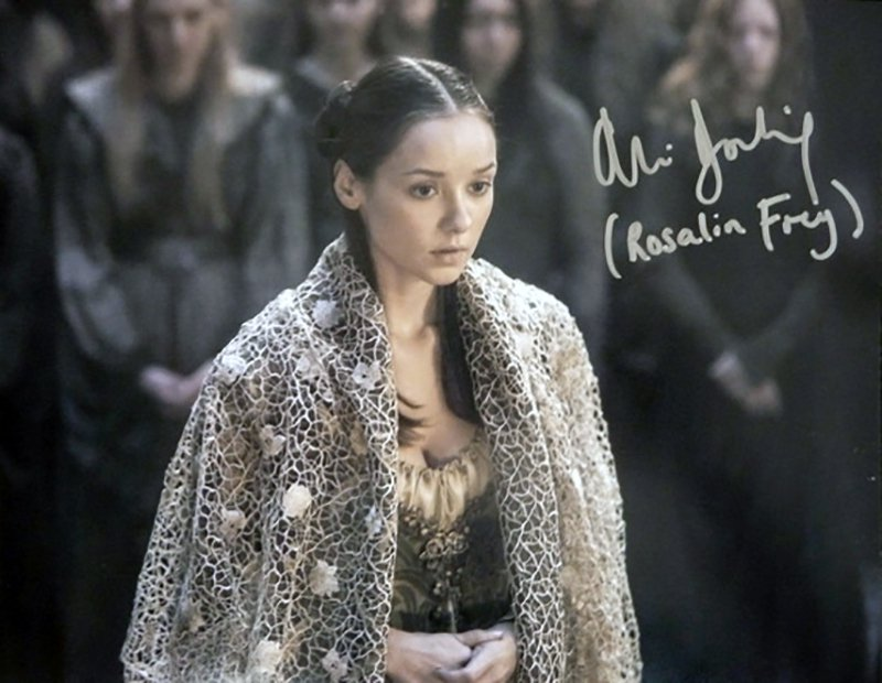 """Alexandra Dowling Game of Thrones 8 x 10"""" Autographed / Signed Photo (Reprint:GOT26)"""