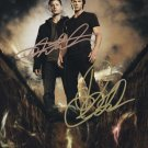 "Supernatural Cast x 2; Jensen & Jared 8 x 10"" Autographed Photo - (Ref:SPTV09)"
