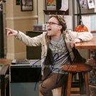 """Johnny Galecki (The Big Bang Theory) 8 x 10"""" Autographed Photo - (Ref:TBT05)"""