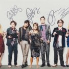 The Big Bang Theory cast (X 7) Autographed Photo (Ref:TBT012)