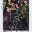 The Big Bang Theory cast X 7 Autographed Photo (Reprint TBT013) ideal for Birthdays & X-mas