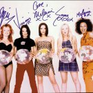 "The Spice Girls 8 X 10"" Autographed Photo Emma, Mel C, Mel B, Victoria, Geri (Reprint:001)"