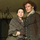 "Caitriona Balfe & Sam Heughan Outlander 8 x 10"" signed/ autographed glossy photo print"