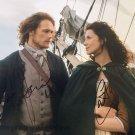 "Caitriona Balfe & Sam Heughan (Outlander) 8 X 10"" Autographed Photo (Reprint:03) FREE SHIPPING"