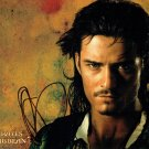 "Orlando Bloom Pirates Of The Caribbean 8 X 10"" Autographed Photo - (Ref:723)"