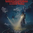"""Stranger Things (Signed by all cast members) 8 x 10"""" Autographed Photo - (Reprint :747)"""
