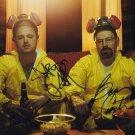 """Bryan Cranston & Aaron Paul (Breaking Bad) 8 x 10"""" Autographed Photo (Reorint:766)"""