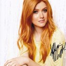 "Katherine McNamara (Shadow Hunters) 8 x 10"" Autographed Photo (Reprint:782)"