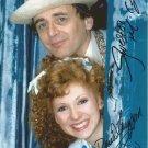 """Sylverster McCoy & Bonnie Langford 8 x 10"""" Autographed Photo - (Ref:786)"""