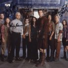 Firefly (Cast) Tudyk, Staite, Glau, Torres, Baldwin, Fillion, Mayher signed photo (Reprint:802)