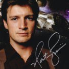 "Nathan Fillion (Buffy/ Firefly / Castle) 8 X 10"" Autographed Photo (Reprint:828) Great Gift Idea!"