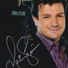 "Nathan Fillion Firefly / Castle 8 X 10"" Autographed Photo - (Ref:829)"