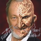 "Robert Englund A Nightmare on Elm St  8 x 10"" Autographed Photo - (Ref:835)"
