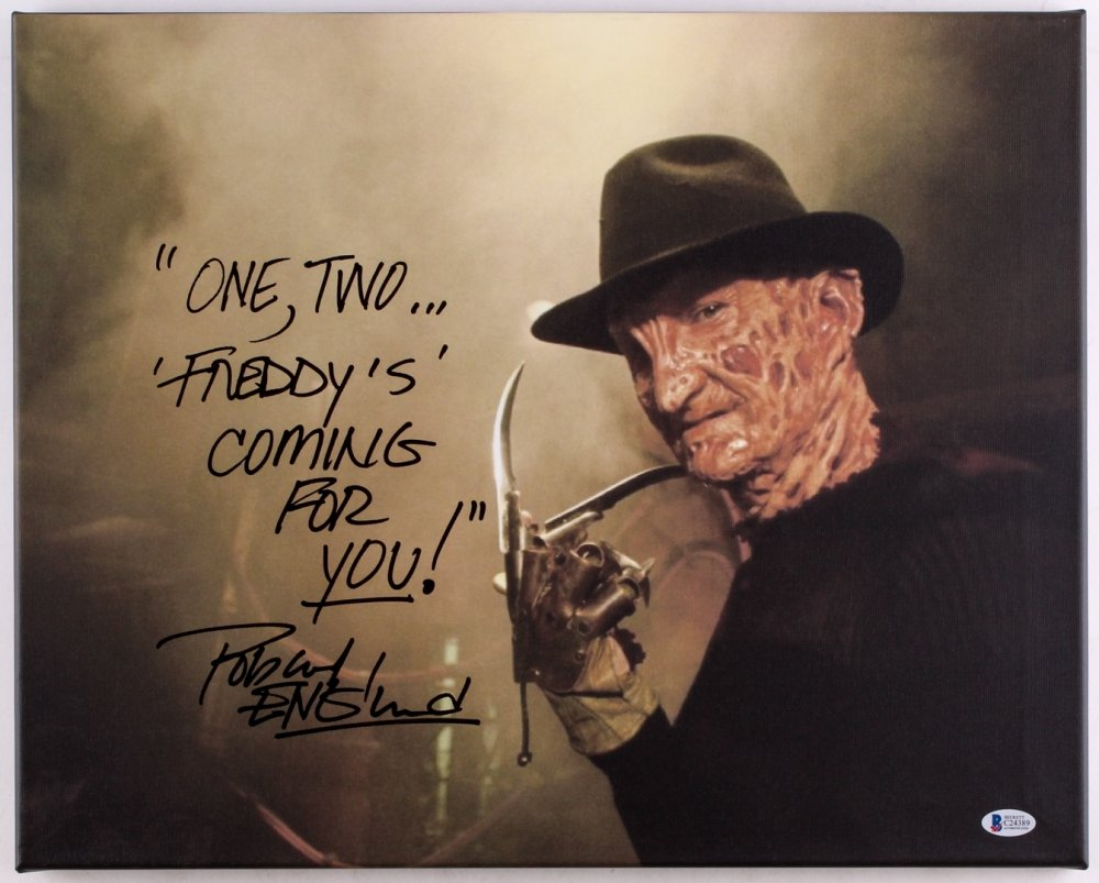 "Robert Englund  8 x 10""  A Nightmare on Elm St Signed/ Autographed Photo - (Ref:842)"