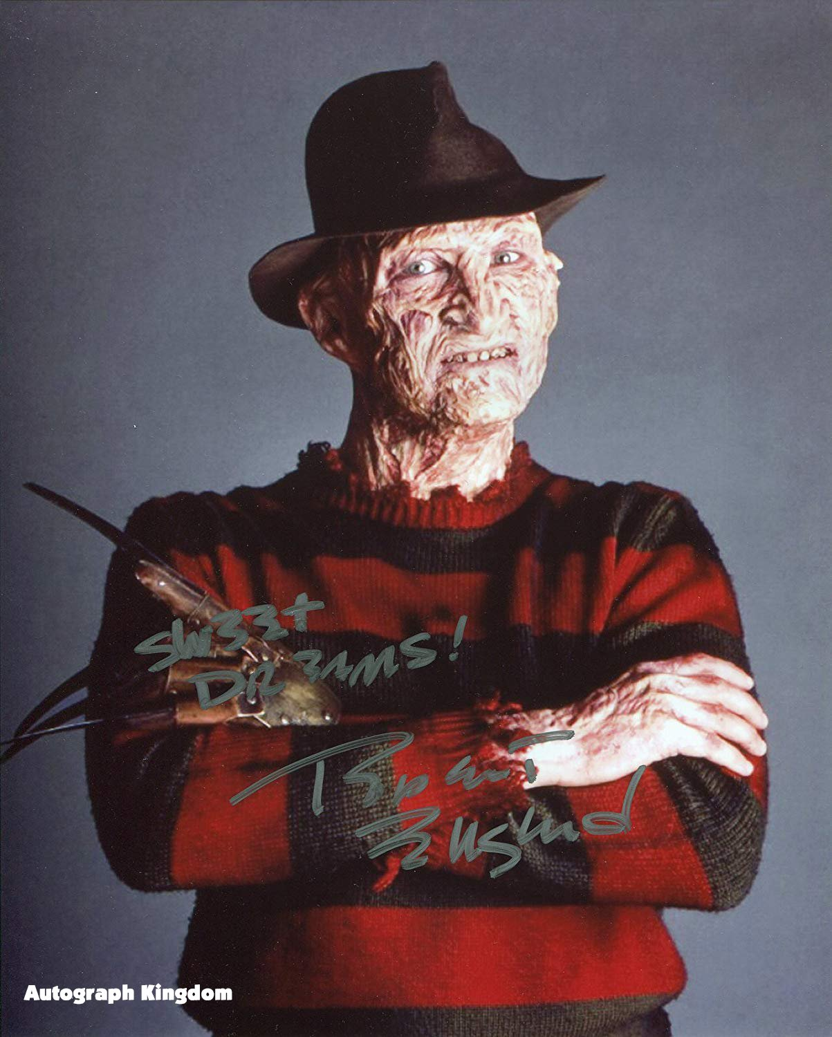 """Robert Englund 8 x 10"""" Autographed Signed Photo A Nightmare on Elm St (Reprint:844) Great Gift Idea!"""