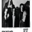 "Nine Inch Nails 8 x 10"" Black & White Promo Photo"