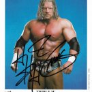 "Triple H (American Wrestler) 8 X 10"" Autographed Photo (Ref:894)"