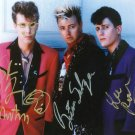 "The Stray Cats (Pop Group) 8 X 10"" Autographed Photo (Reprint:893) ideal for Birthdays & X-mas"