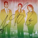 "Hanson Pop Group(Taylor Hanson, Issac Hanson, Zac Hanson) 5 x7"" Autographed Photo (Ref:895)"