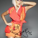 "Lady Gaga (Pop star) 8 X 10"" Autographed Photo (Reprint:902)"