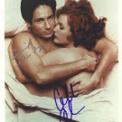 """David Duchovny & Gillian Anderson 8 x 10"""" Autographed Signed Photo (Reprint :942) Great Gift Idea!"""