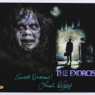 "Linda Blair 8 x 10"" The Exorcist Autographed Photo - (Ref:946)"