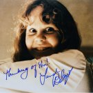 "Linda Blair 8 x 10"" The Exorcist Autographed /signed photo - (Reprint Ref:950)"