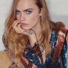 """Cara Delevigne 8 x 10"""" Autographed Photo The Face of A Fallen Angel (Reprint:960) Great Gift Idea!"""