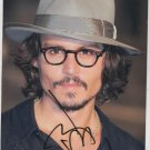 Genuine Hand Signed Johnny Depp Photo - (Ref:966)