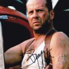 """Bruce Willis 8 x 10"""" Die Hard / The Fifth Element Autographed Photo - (Ref:992)"""