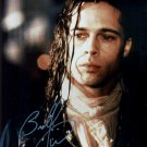 "Brad Pitt 8 x 10"" An Interview With A Vampire Autographed Photo - (Ref:997)"