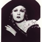 "Anita Page 8 x 10"" Autographed Photo The Big Cage, Navy Blues - (Reprint:1013)"