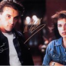 Scream Cast x2 Neve Campbell and Skeet Ulrich Autographed Photo - (Ref:1020)