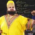 "Akeem ""The African Dream/ One Man Gang  (Wrestler) 8 x 10"" Autographed Photo (Ref:1040)"