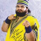 "Akeem ""The African Dream/ One Man Gang (Wrestler) 8 x 10"" Autographed Photo (Reprint:1041)"